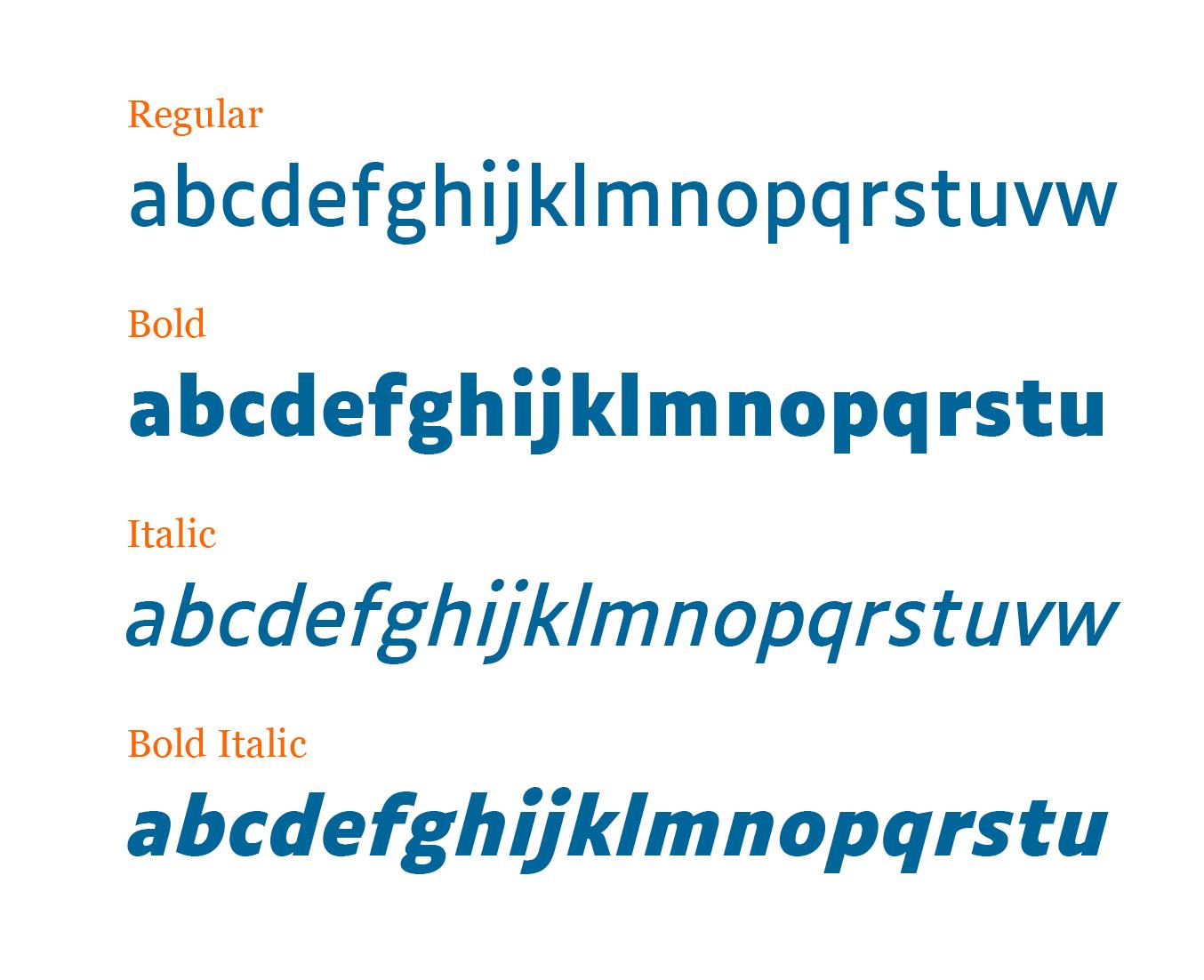 Luciole - Typeface